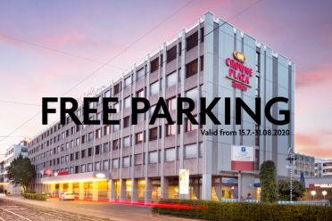 Free Parking 15.07.-31.08.2020